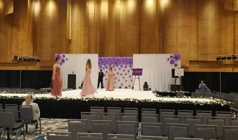 Stage Carpet Rental Cincinnati