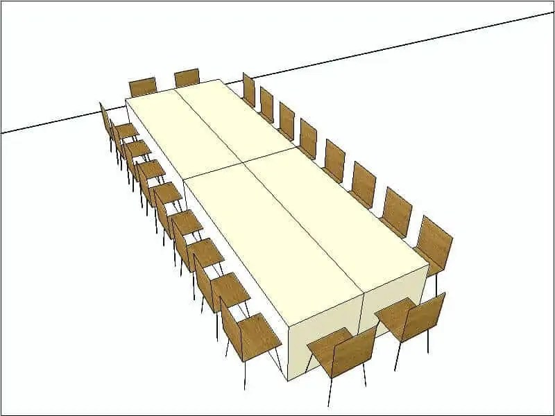 Kings Table Configuration