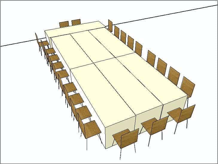 King Arthur Table Configuration