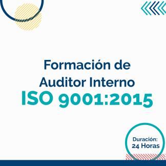 Formación de Auditor Interno ISO 9001: 2015