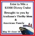 win a disney's cruise
