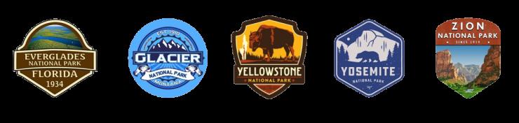 National Park Logos