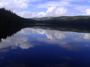 Lower Hadlock Pond in Acadia National Park
