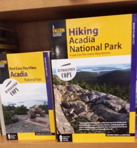 Acadia hiking books