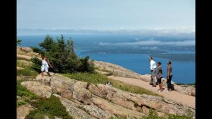 President Barack Obama hikes Acadia National Park