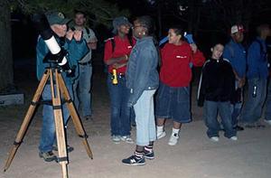National Park stargazing