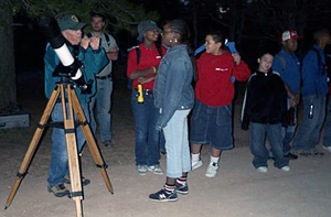 National Park stargazing