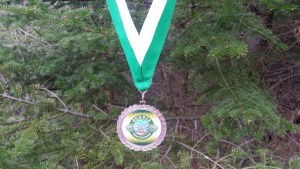 acadia virtual race medal