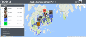 Can AOMM2, as represented by the Bubble Rock avatar, finish the remaining 51.7 miles in Part II of the Acadia Centennial Trek, and complete the 100 miles of Part III, before the end of the year? Stay tuned!