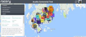 acadia virtual races