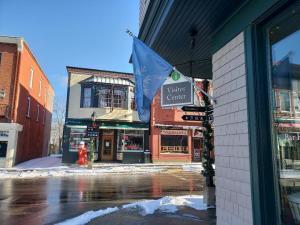 Winter visitor center for Acadia Natioal Park