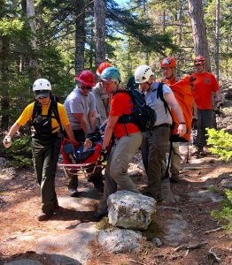 acadia hiking accidents
