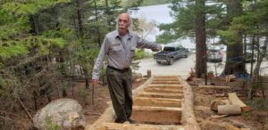 Gary Stellpflug on Valley Trail in Acadia National Park