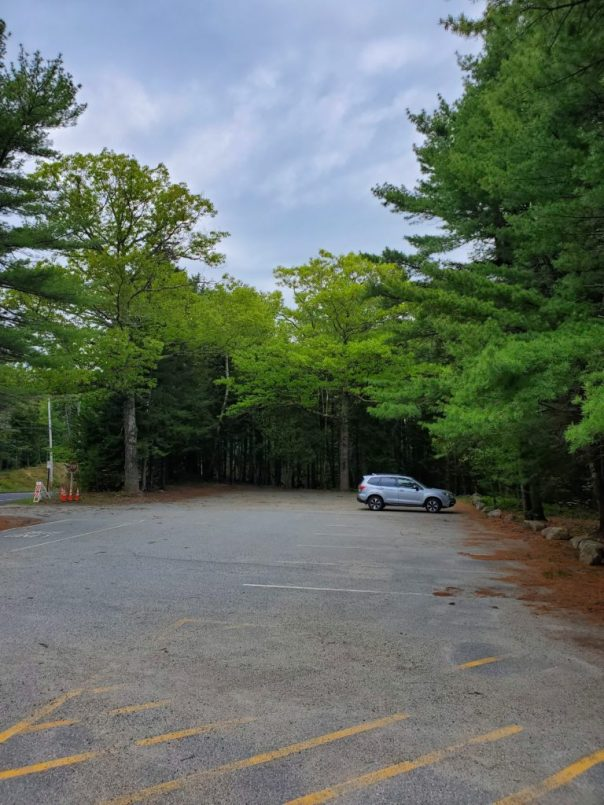 Brown Mountain Gatehouse parking