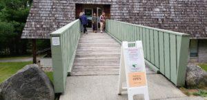 Park store entrance at Acadia National Park