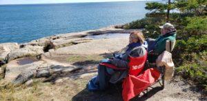 Ann Neitz and Bob Neitz at Acadia National Park