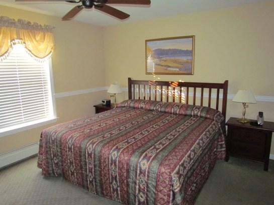 Manor A Side Bedroom Acadia Village Resort