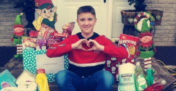 Dons de Noël: un garçon de 12 ans fait sa part