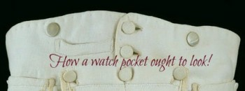 resized watch pocket close up