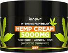 Organic Hemp Cream for Pain Relief and Inflammation – 5000 Mg – Made in USA
