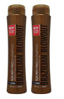 Brazilian Blowout Acai Anti-Frizz Shampoo 12oz, 2-pack BOTH Color Save Free Ship