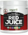 Organifi 9.5 oz Red Juice Acai and Cordyceps Infused Gently Dried Superfood…