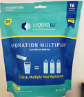 Liquid IV Hydration Multiplier Drink Mix 16 Stick Packs Choose Flavor