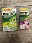 2x Emergen-C Energy Plus Fizzy Drink Mix Lemon Blueberry Acai 26 packets Tot