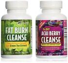 Applied Nutrition 14-Day Acai Berry Cleanse + 14-Day Fat Burn Cleanse, Value