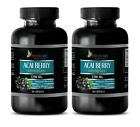 ACAI Berry 1200mg – Heart Health. Boosts Immune System (2 Bottles, 120 Capsules)