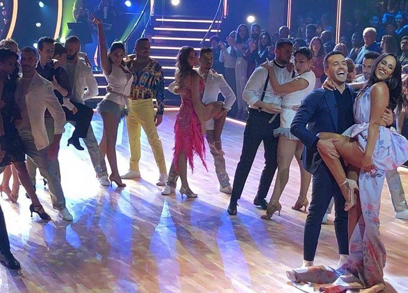 Estreia de 'Dança com as Estrelas' não vence 'A Máscara'