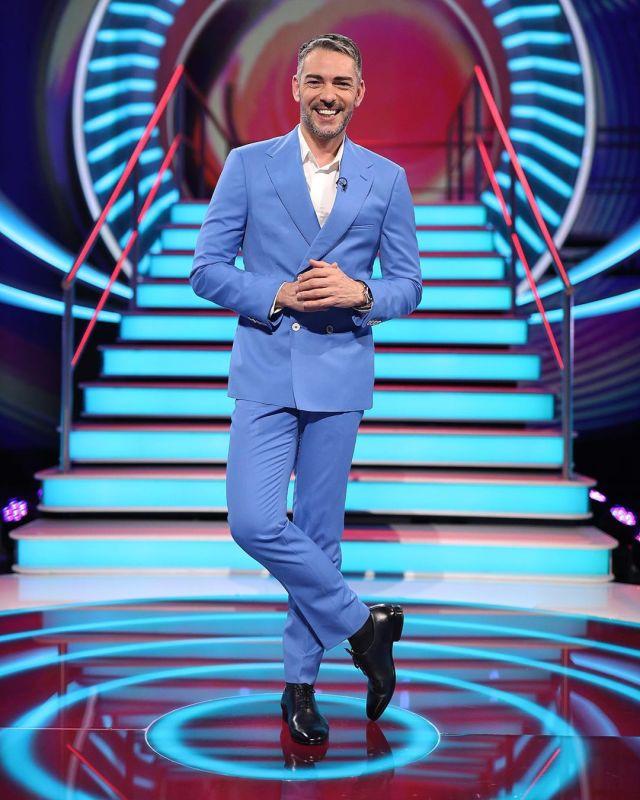 Cláudio Ramos na estreia do Big Brother