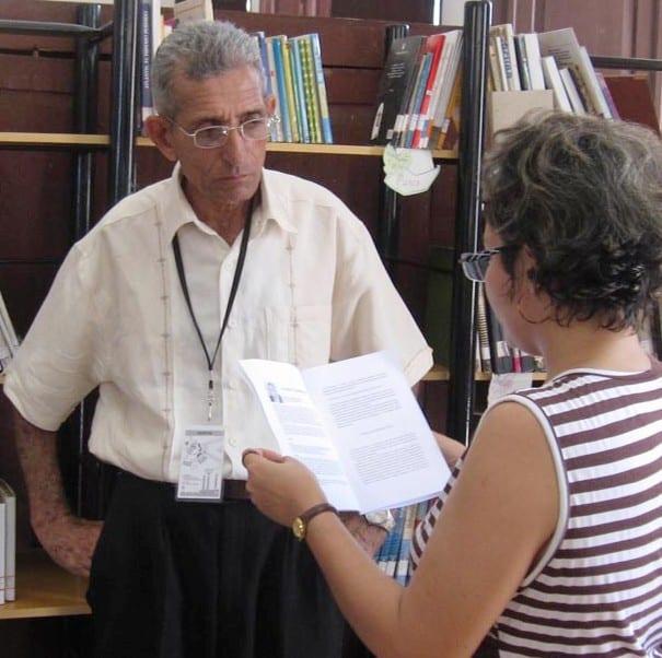 Entrevista a Andrés Casanova para la Televisión Cubana