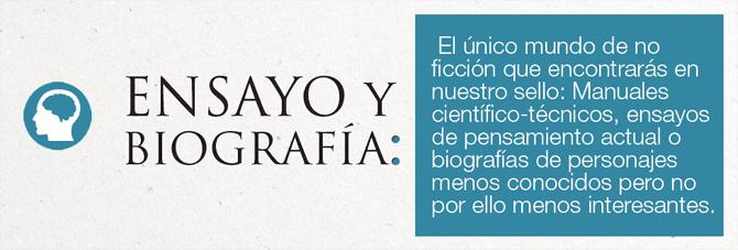Ensayo y Biografía - Editorial Amarante