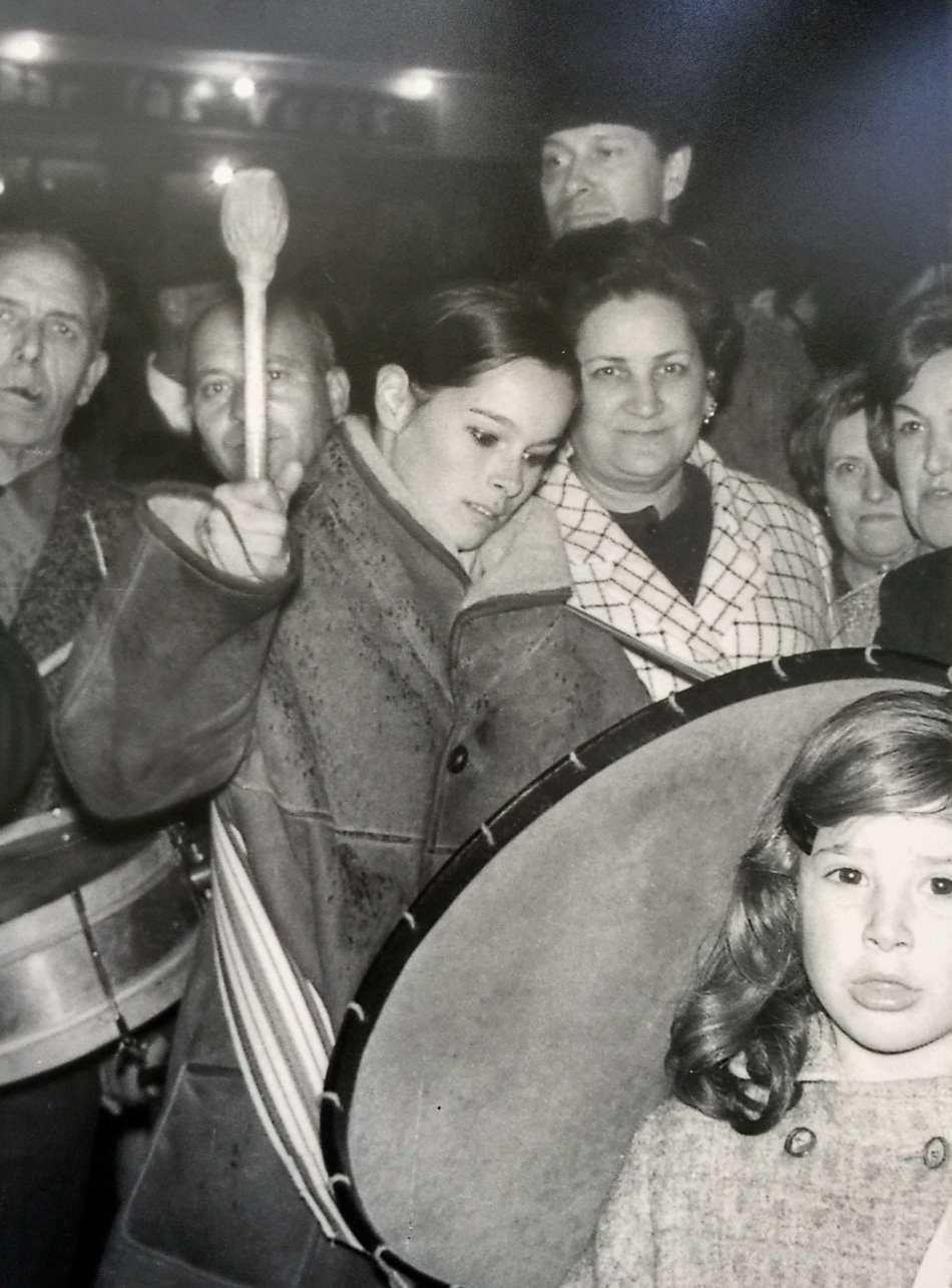 Geraldine Chaplin en Calanda