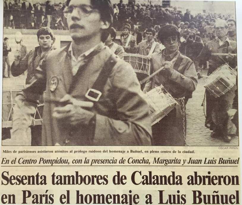 Inauguración del Liceo Luis Buñuel de París