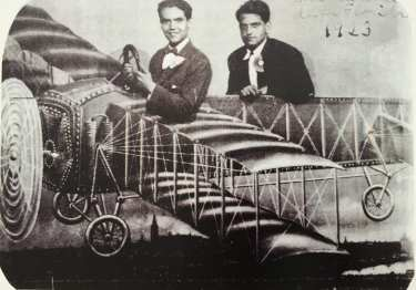Federico García Lorca y Luis Buñuel