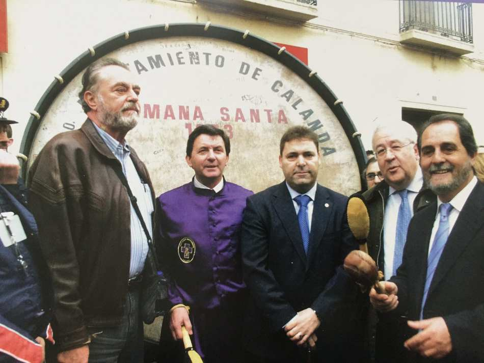 Rafael Buñuel y Jose Ángel Biel