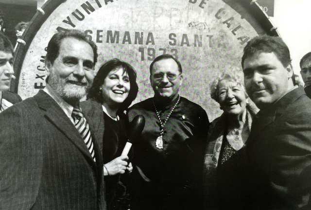 Charo López, Andrés Albacar y Asunción Balaguer