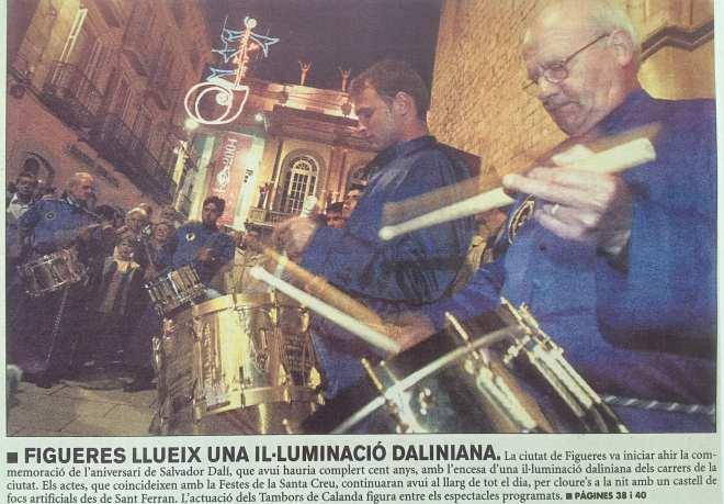 Figueres Museo Dalí. Tambores de Calanda
