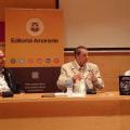 Carlos Alonso, Fernando Pardo y Víctor Marchán,