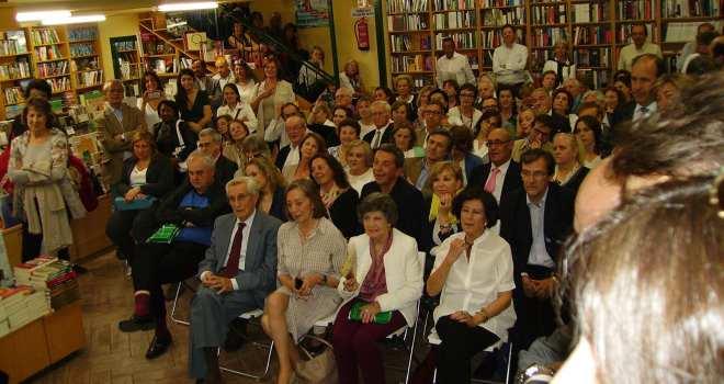 """Público asistente a la presentación de """"El coronel de los martes"""""""
