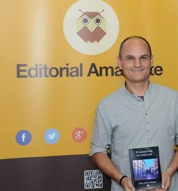 Jaime Arroyo comenzó la promoción de su última novela en Espacio Amarante