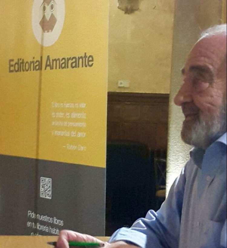 Un entrañable Jotamar nos presenta su última novela