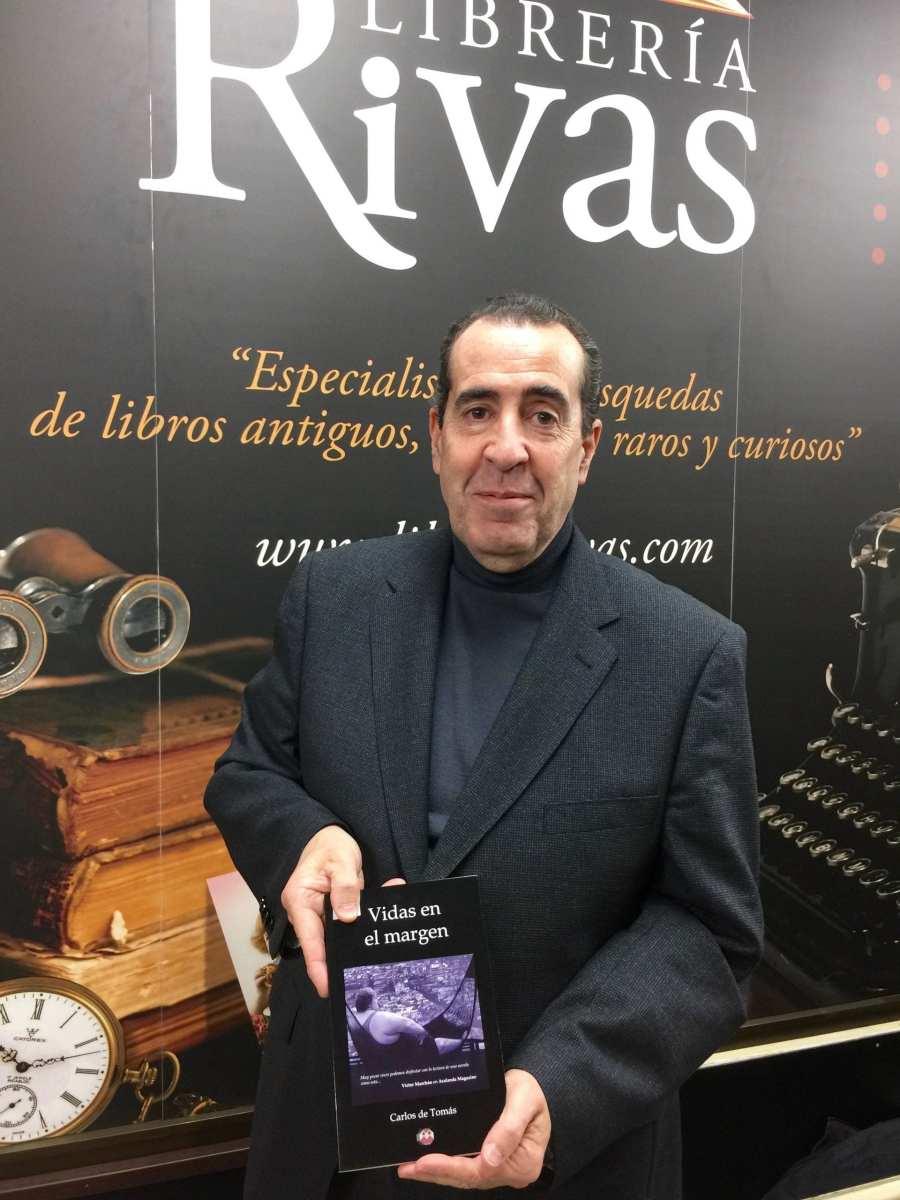 Entrevista al escritor Carlos de Tomás por el periodista Paco Marín