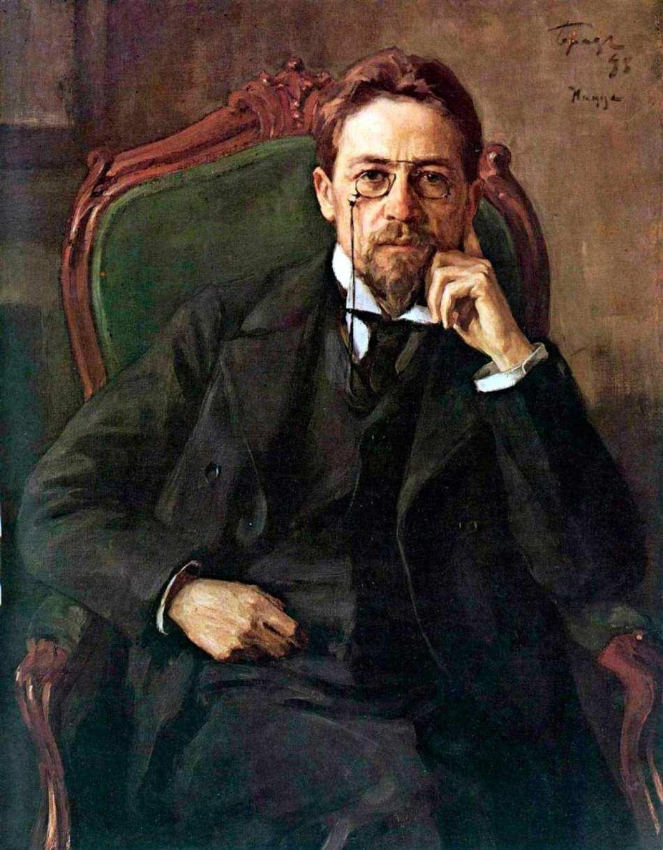 Retrato de Anton Pavlovich Chekhov - Wikimedia https://es.wikipedia.org/wiki/Ant%C3%B3n_Ch%C3%A9jov