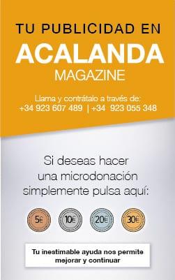 Acalanda Magazine Amarante Donación Paypal