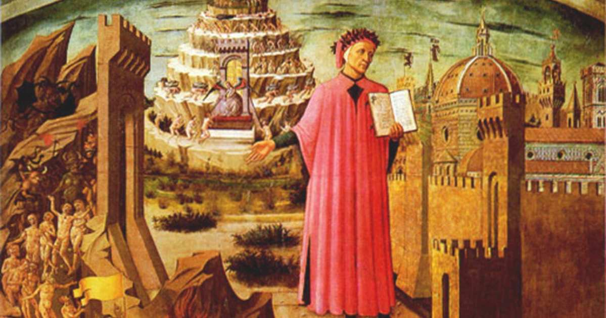 La Divina Comedia. Primeras ilustraciones