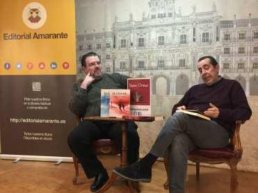 José Manuel Cruz y Carlos de Tomás