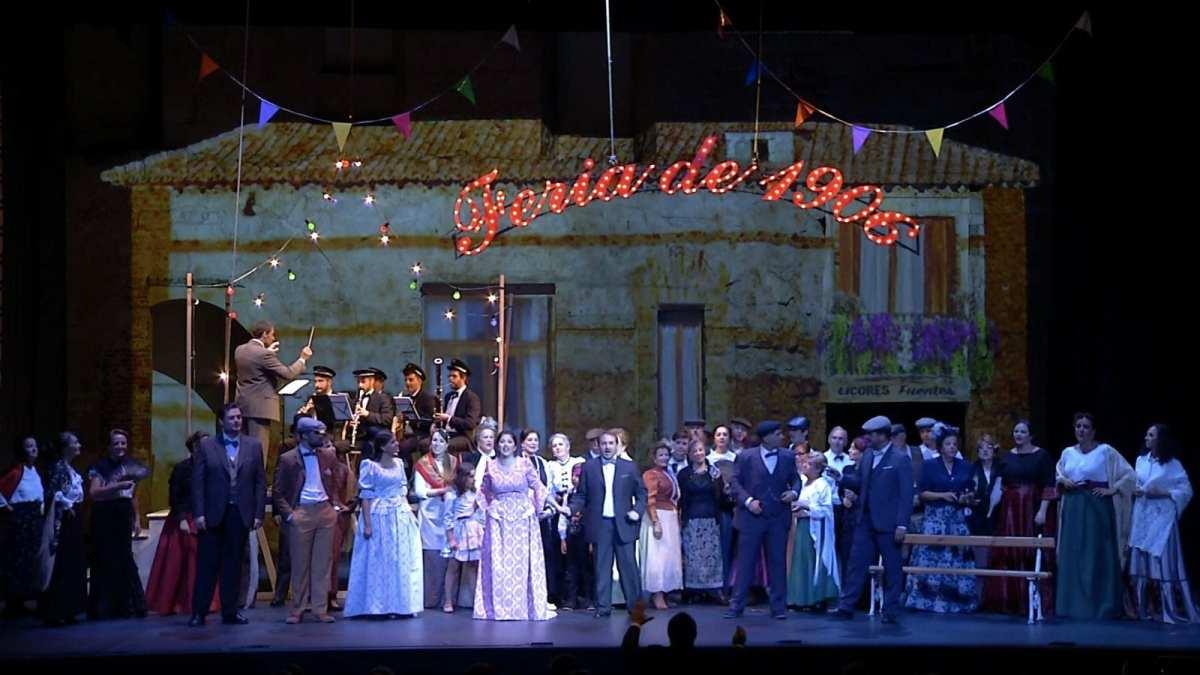 Una zarzuela salmantina opta a varias candidaturas de los Premios Max de Teatro